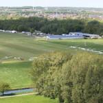 Luftaufnahme EDLF während eines Wettbewerbs