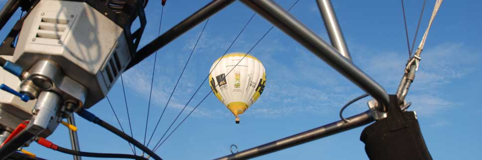 Skytours-Heissluftballon