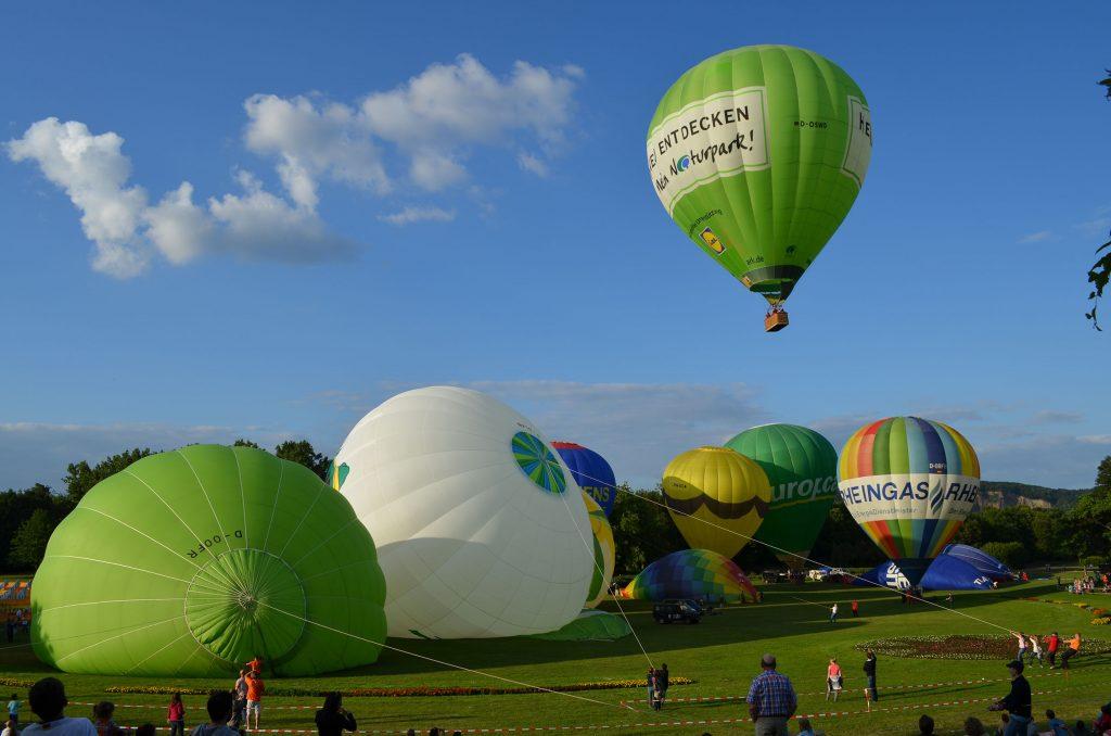 Ballonstart Skytours Ballooning GmbH